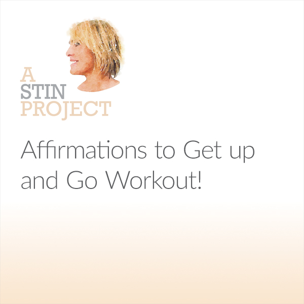 Affirmations to Get Up and Go Workout! , Hörbuc...