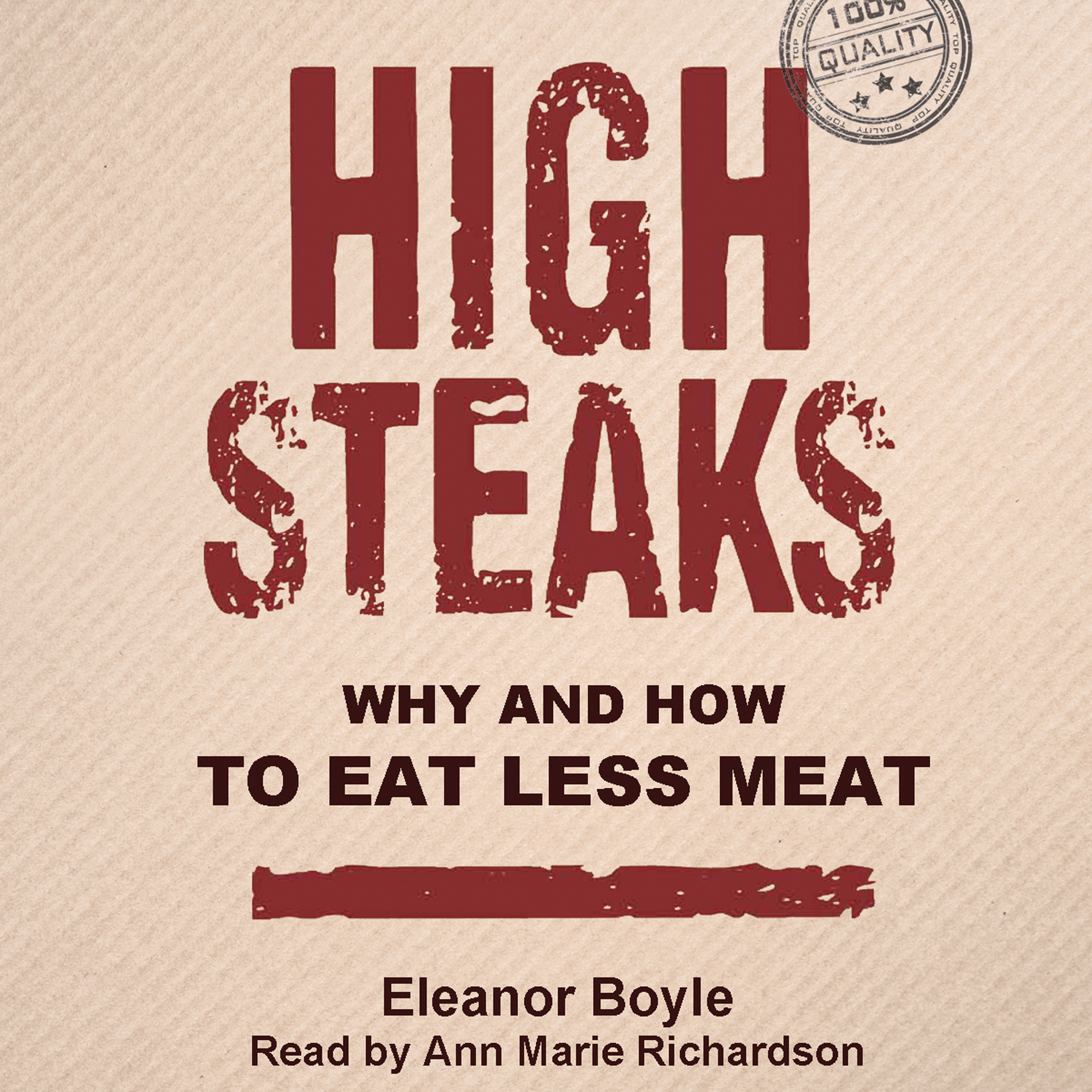 High Steaks: Why and How to Eat Less Meat , Hör...