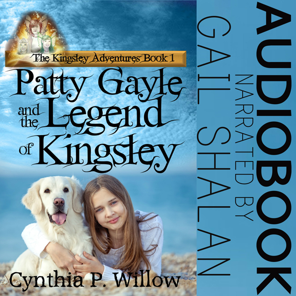 Patty Gayle and the Legend of Kingsley , Hörbuc...
