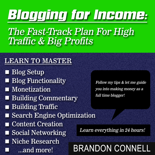 Blogging for Income: The Fast Track Plan for Hi...