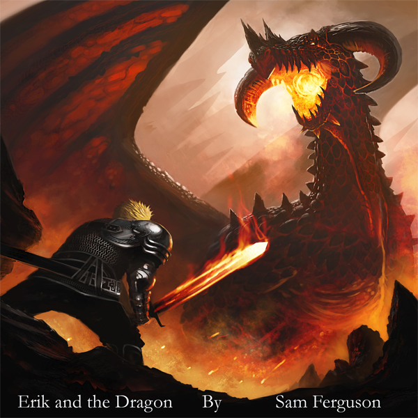 Erik and the Dragon: The Dragon´s Champion, Boo...