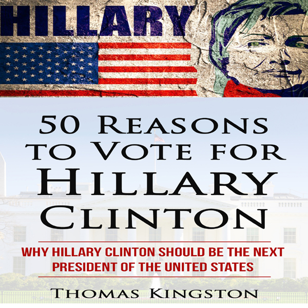 50 Reasons to Vote for Hillary Clinton , Hörbuc...