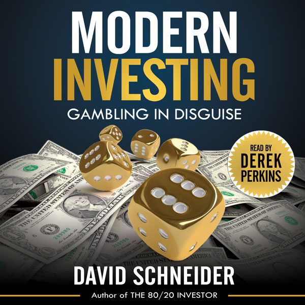 Modern Investing: Gambling in Disguise , Hörbuc...