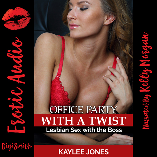 Office Party with a Twist: Lesbian Sex with the...