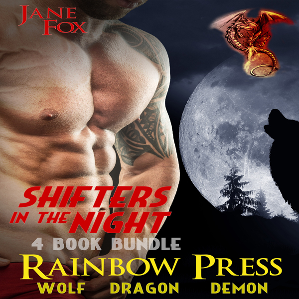 Shifters in the Night: 4 Book Bundle MM Gay PNR...