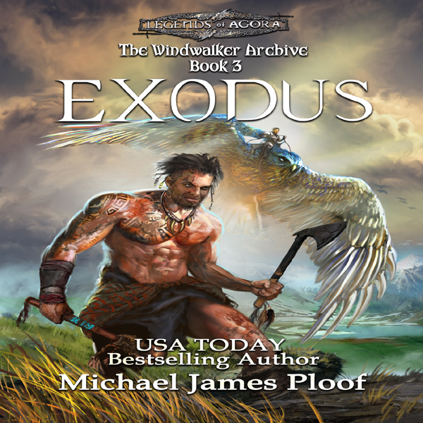 Exodus: The Windwalker Archive, Book 3 , Hörbuc...