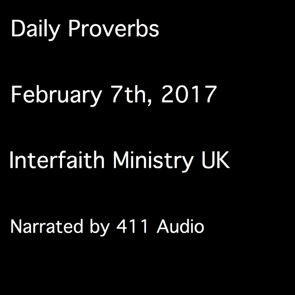 Daily Proverbs, February 7, 2017 , Hörbuch, Dig...