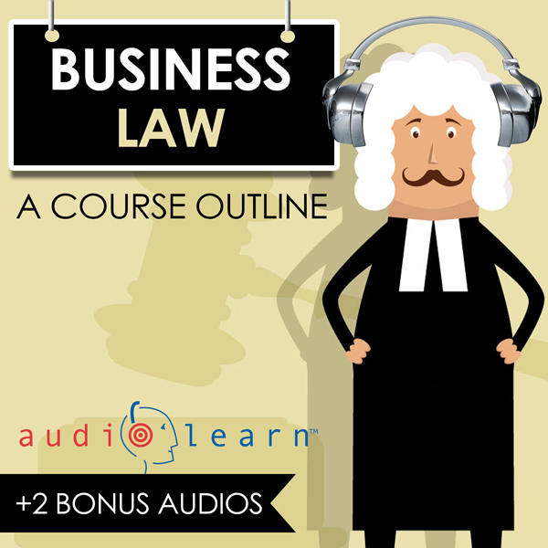 Business Law AudioLearn: A Course Outline , Hör...