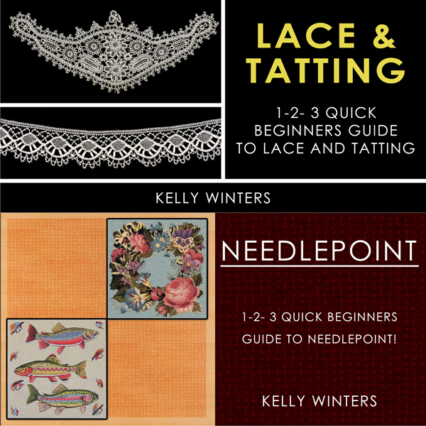 Lace & Tatting & Needlepoint: 1-2-3 Quick Begin...
