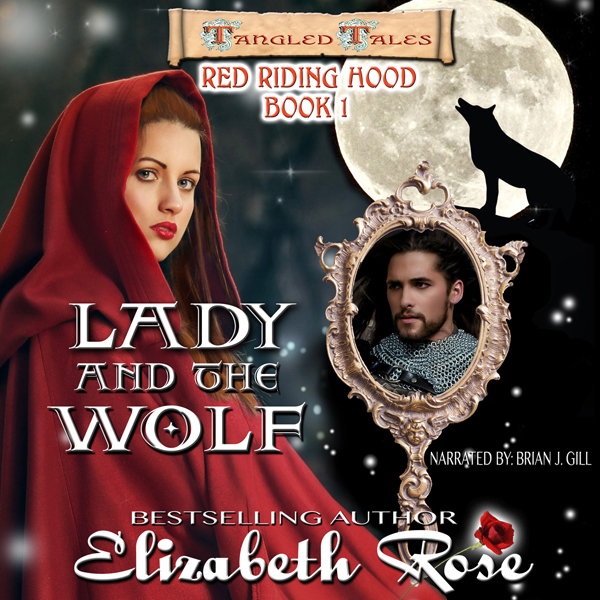 Lady and the Wolf: Tangled Tales, Book 1 , Hörb...