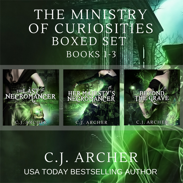 The Ministry of Curiosities Boxed Set: Books 1-...