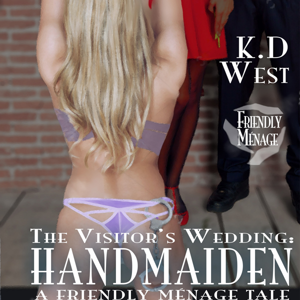 Handmaiden: A Friendly FFM Ménage Tale: The Vis...