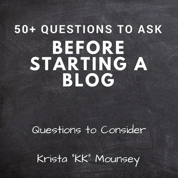 50+ Questions to Ask Before Starting a Blog: Qu...