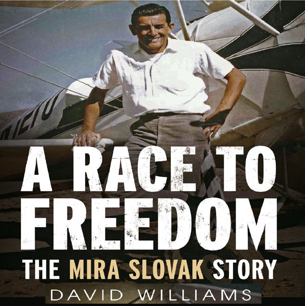 A Race to Freedom: The Mira Slovak Story , Hörb...