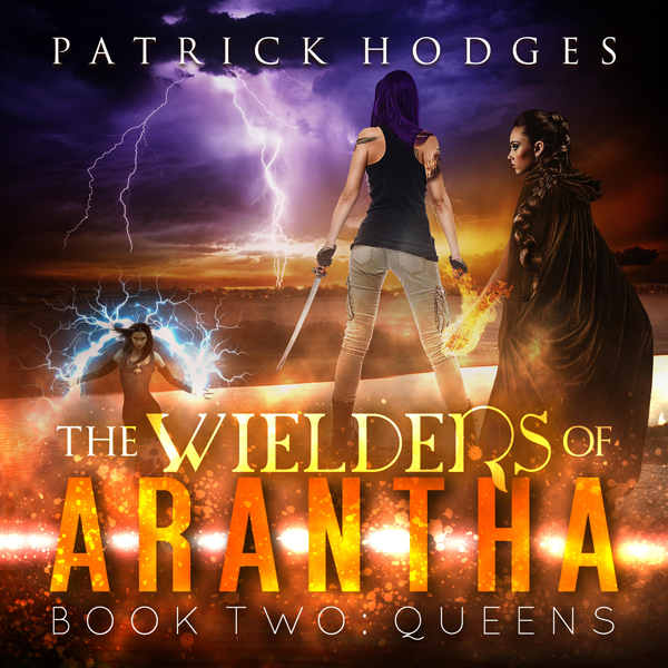 Queens : The Wielders of Arantha, Book 2 , Hörb...