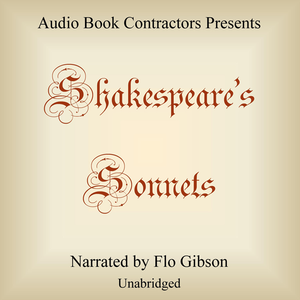 Shakespeare´s Sonnets , Hörbuch, Digital, 1, 11...