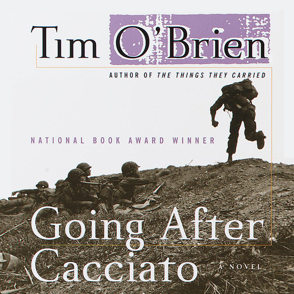 going after cacciato Thank you i've already begun enjoying your poetry anthologies here's what's next read going after cacciato (336 pages) by tim o'brien by friday march 4 now that we've concluded our all-poetry-all-the-time immersion, we're ready to tackle some new prose fiction.