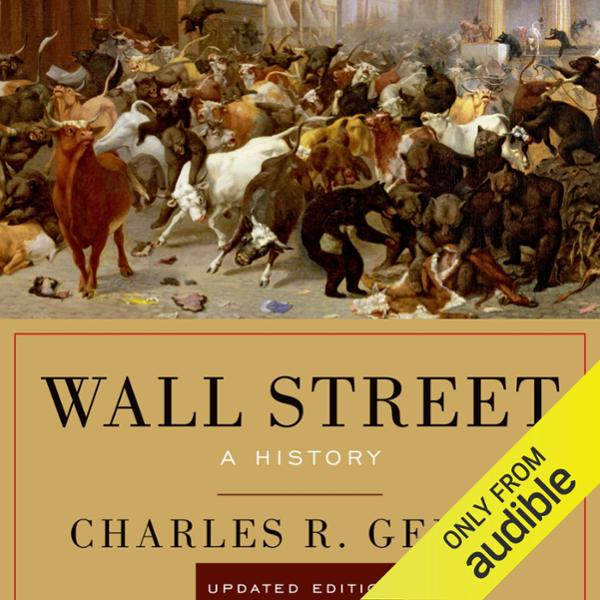 Wall Street: A History, Updated Edition , Hörbu...
