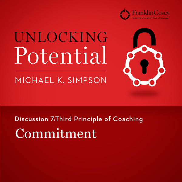 Discussion 7: Third Principle of Coaching - Commitment , Hörbuch, Digital, 1, 4min