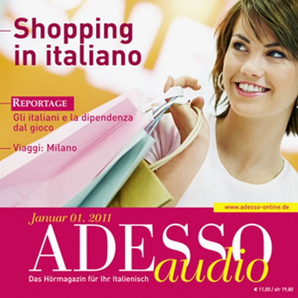 ADESSO audio - Shopping in italiano. 1/2011: It...