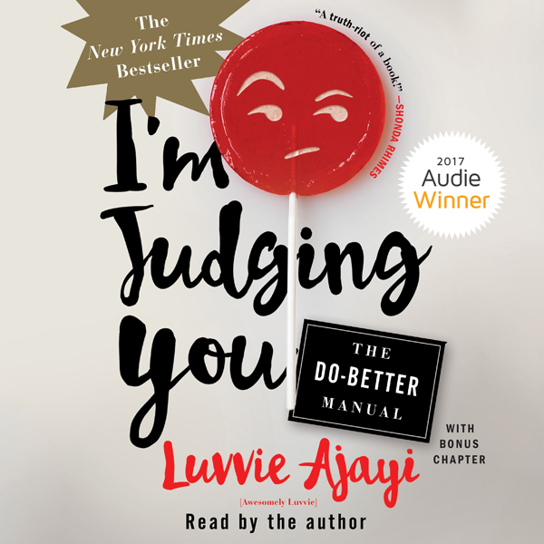 I´m Judging You: The Do-Better Manual , Hörbuch...