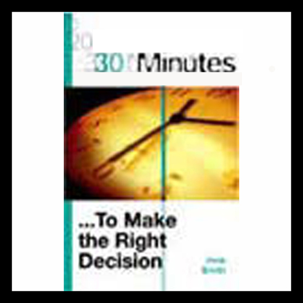 30 Minutes to Make the Right Decision (Executive Summary), Hörbuch, Digital, 1, 13min