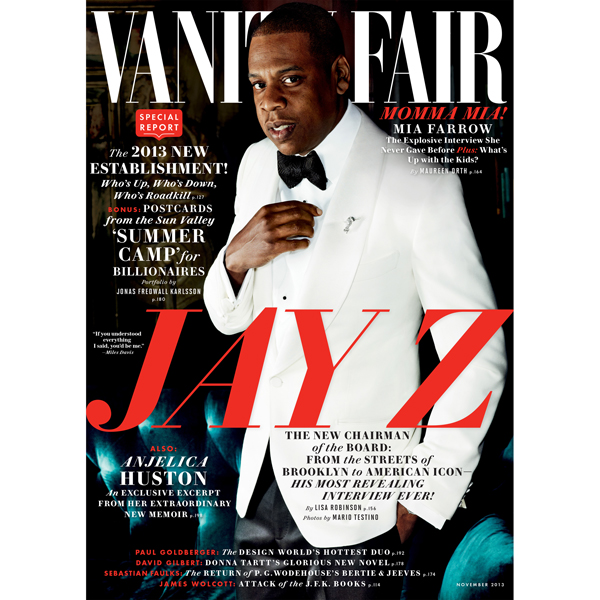Vanity Fair: November 2013 Issue, Hörbuch, Digi...