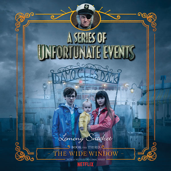 The Wide Window: A Series of Unfortunate Events #3 , Hörbuch, Digital, 1, 184min