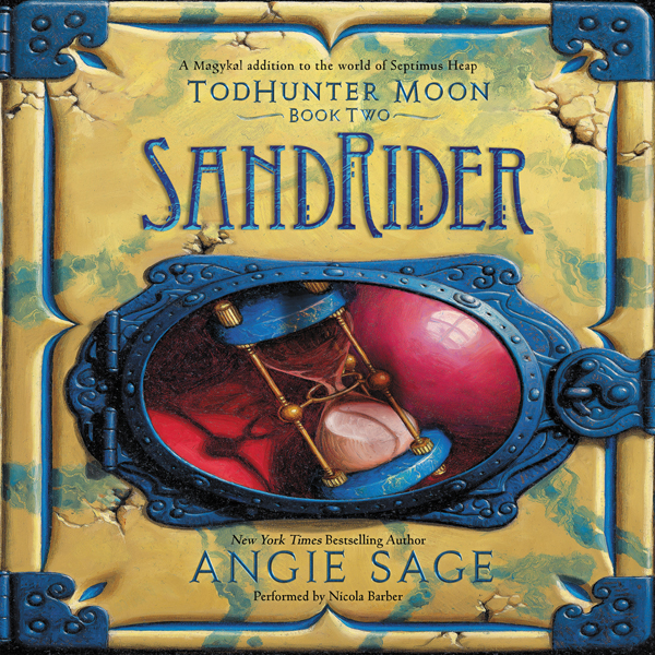 TodHunter Moon, Book Two: SandRider , Hörbuch, ...
