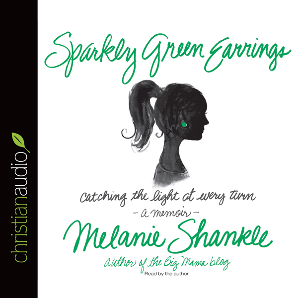 Sparkly Green Earrings: Catching the Light at E...