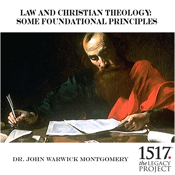 Law and Christian Theology: Some Foundational Principles, Hörbuch, Digital, 1, 51min
