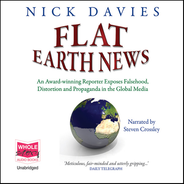 Flat Earth News , Hörbuch, Digital, 1, 1064min