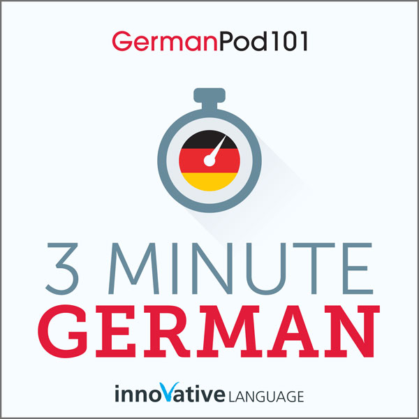 3-Minute German: 25 Lesson Series , Hörbuch, Di...