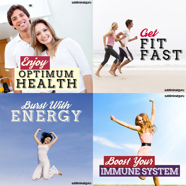 Fit and Healthy Subliminal Messages Bundle: Loo...