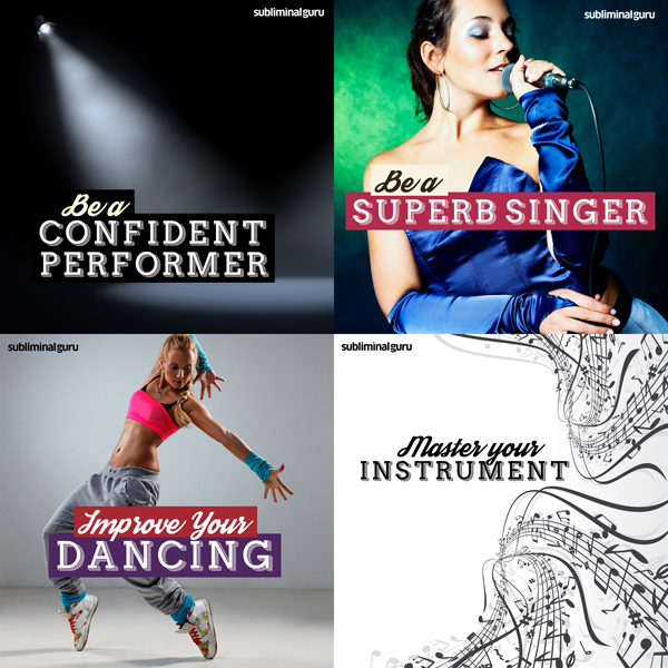 The Performer's Subliminal Messages Bundle: Giv...