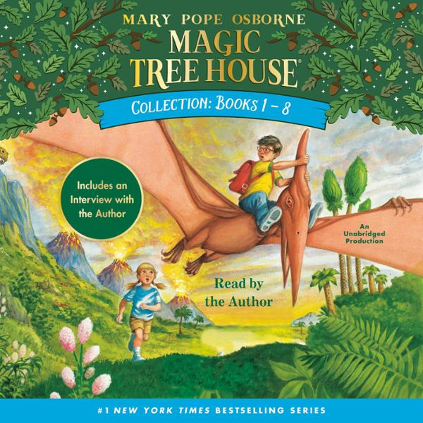 Magic Tree House Collection: Books 1-8 , Hörbuch, Digital, 1, 361min