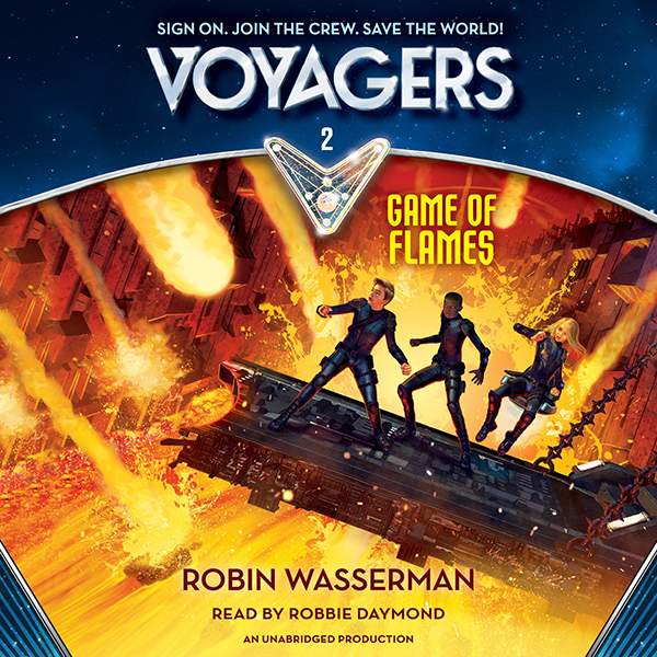 Game of Flames: Voyagers, Book 2 , Hörbuch, Dig...