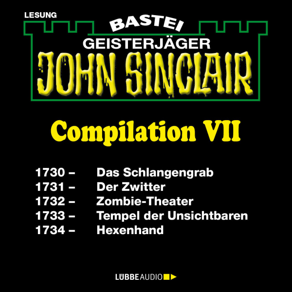 John Sinclair Compilation VII. Band 1730 - 1734...