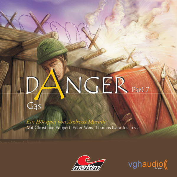 Gas: Danger 7, Hörbuch, Digital, 1, 72min