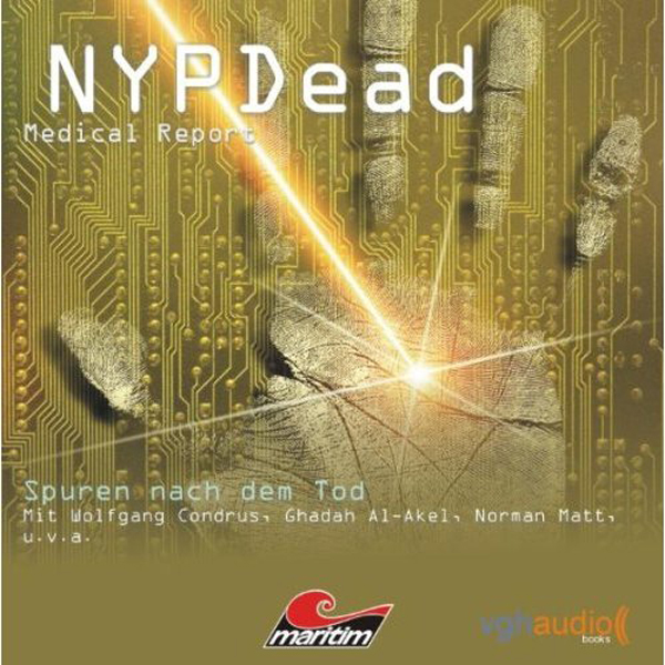 Spuren nach dem Tod (NYPDead - Medical Report 3), Hörbuch, Digital, 1, 55min