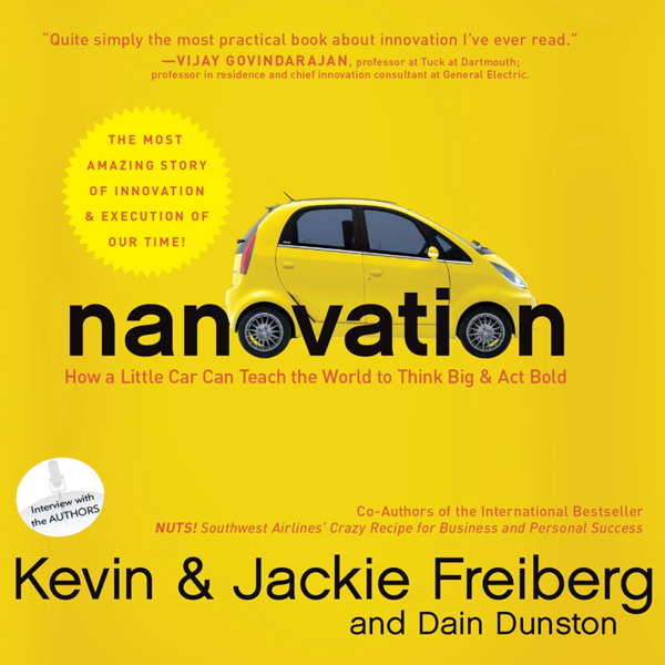 Nanovation: How a Little Car Can Teach the World to Think Big and Act Bold , Hörbuch, Digital, 1, 843min
