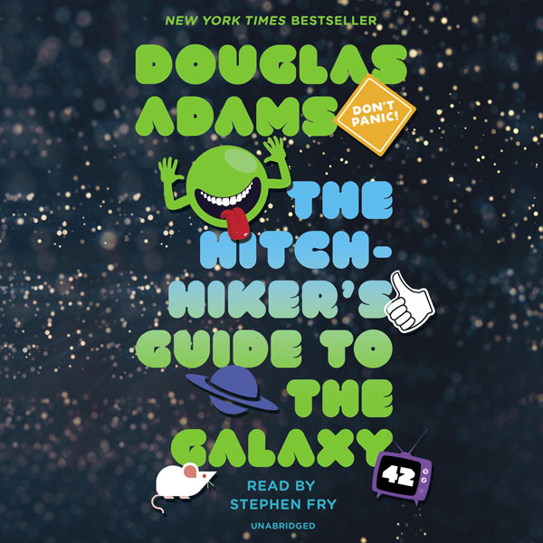 The Hitchhiker´s Guide to the Galaxy , Hörbuch,...