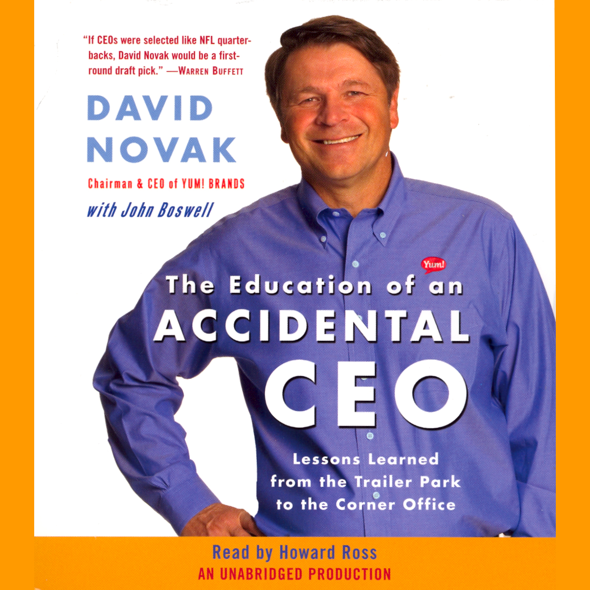 The Education of an Accidental CEO , Hörbuch, D...