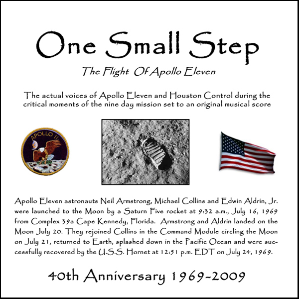 One Small Step: The Flight of Apollo Eleven , H...