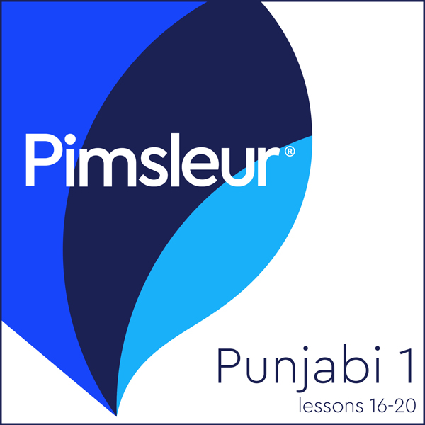 Punjabi Phase 1, Unit 16-20: Learn to Speak and Understand Punjabi with Pimsleur Language Programs, Hörbuch, Digital, 1, 148min