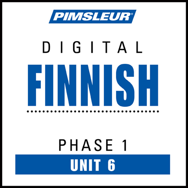 Finnish Phase 1, Unit 06: Learn to Speak and Un...