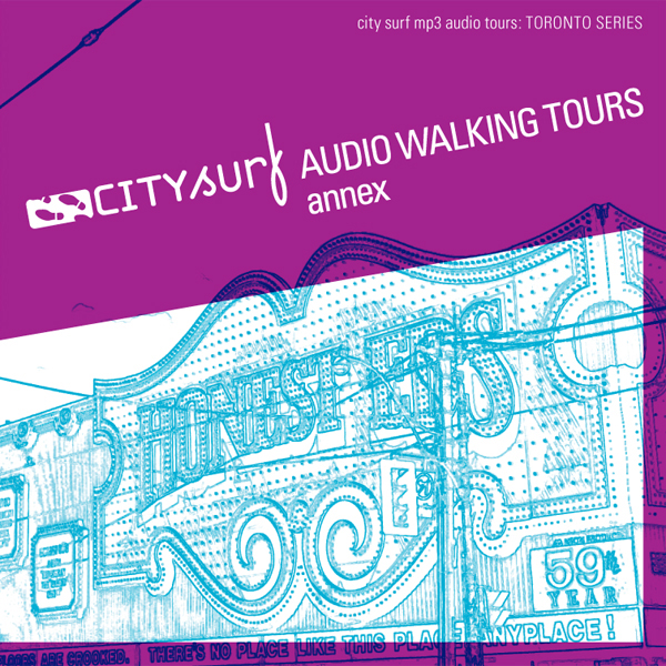City Surf: Toronto: Annex Audio Walk , Hörbuch,...