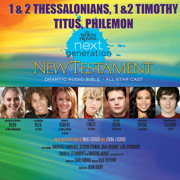 (32) 1,2 Thessalonians - 1,2 Timothy-Titus-Phil...