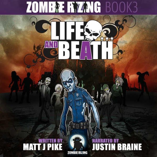 Life and Beath: Zombie RiZing 3 , Hörbuch, Digi...