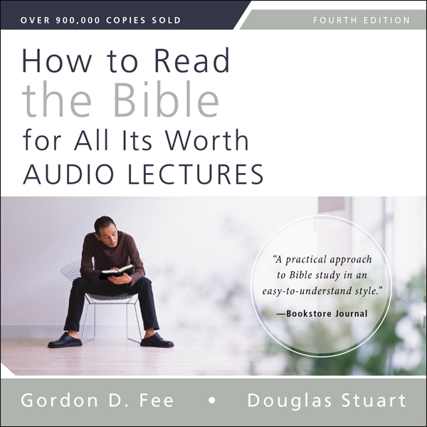 How to Read the Bible for All Its Worth: Audio ...